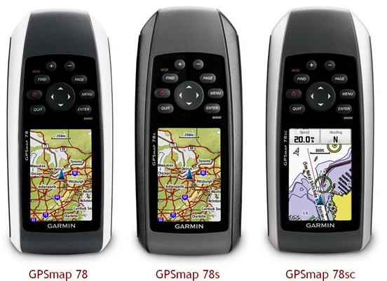 GPSmap 78 Series